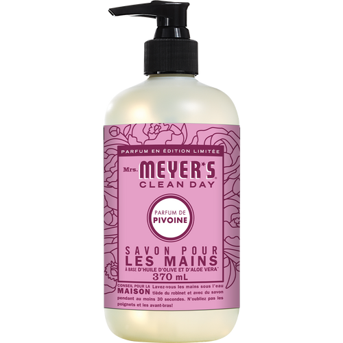 mrs meyers peony liquid hand soap french label - FR