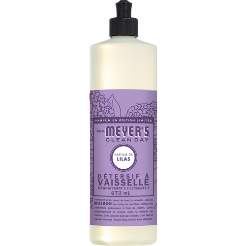 mrs meyers lilac dish soap french label - FR