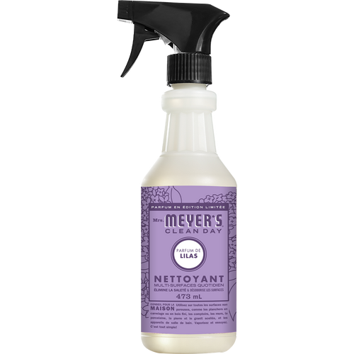 mrs meyers lilac multi surface everyday cleaner french label - FR
