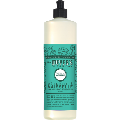 Mme meyers savon à vaisselle menthe label français - FR