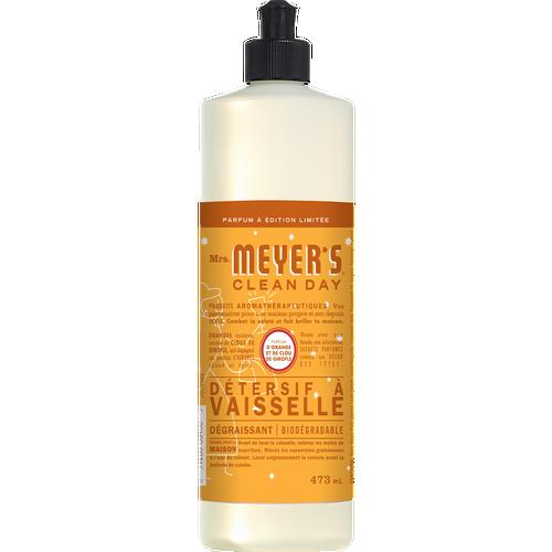 savon à vaisselle mrs meyers orange clou de girofle label français - FR