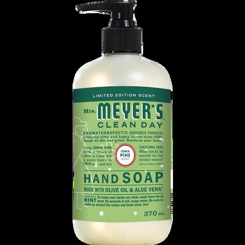 mrs meyers iowa pine liquid hand soap english label - EN
