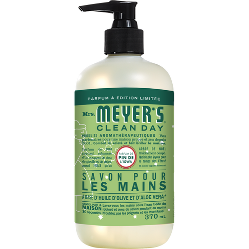 mrs meyers iowa pine liquid hand soap french label - FR
