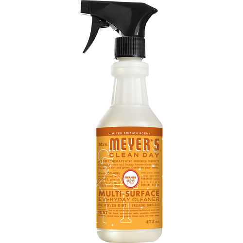 mrs meyers orange clove multi surface everyday cleaner english label - EN