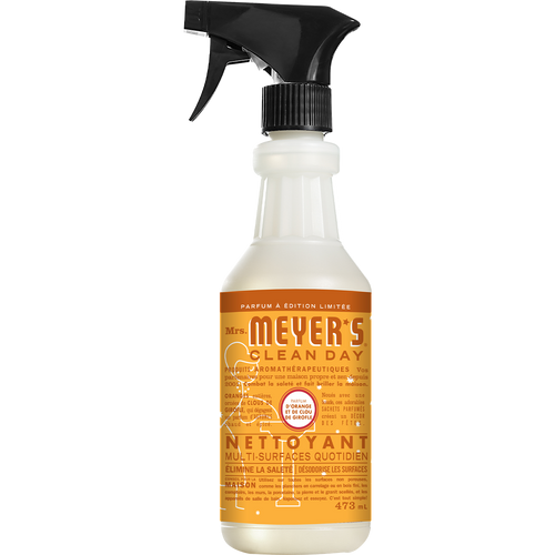 mrs meyers orange clove multi surface everyday cleaner french label - FR