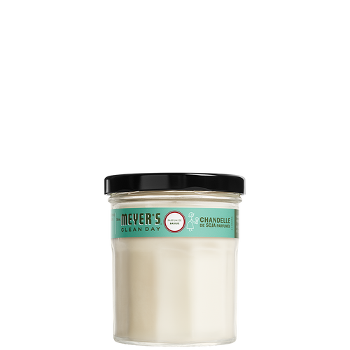 mrs meyers basil soy candle small - EN