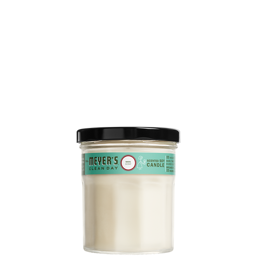 mrs meyers basil soy candle small - FR