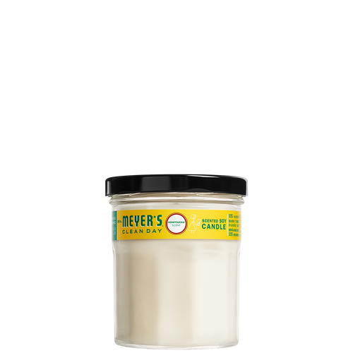 mrs meyers honeysuckle soy candle small - EN