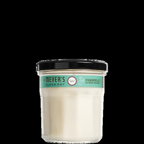 mrs meyers basil soy candle large - FR