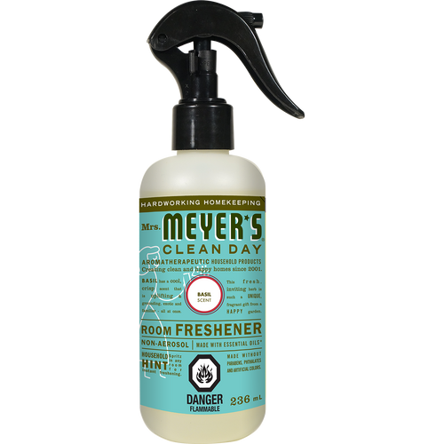 mrs meyers basil room freshener english label - EN