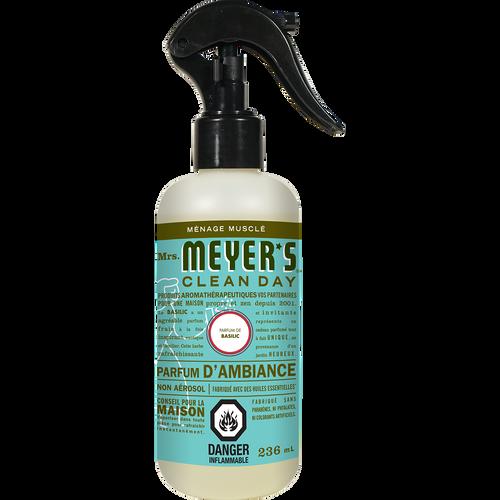 mrs meyers basil room freshener french label - FR