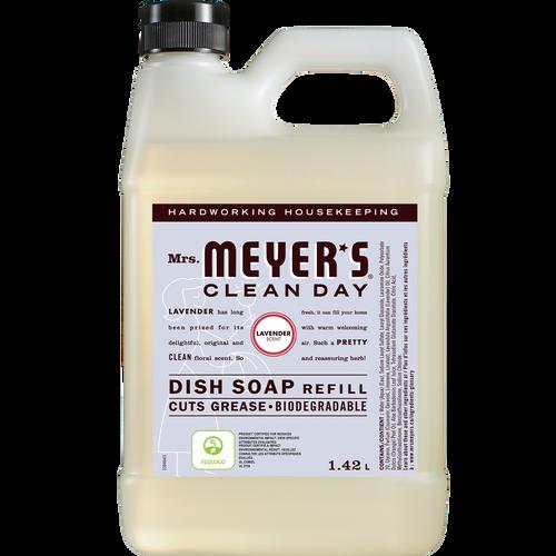 mrs meyers lavender dish soap refill english label - EN