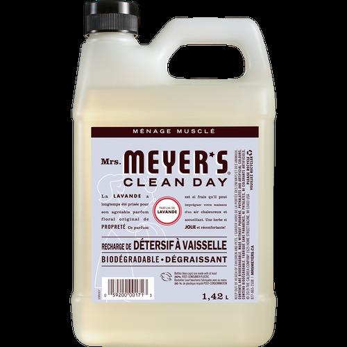 Mme meyers recharge de savon à vaisselle lavande label français - FR