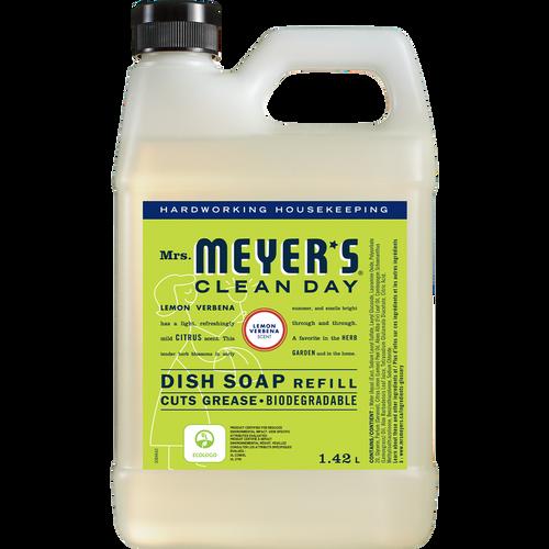 mrs meyers lemon verbena dish soap refill english label - EN