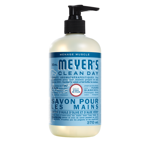 mrs meyers rain water liquid hand soap - FR
