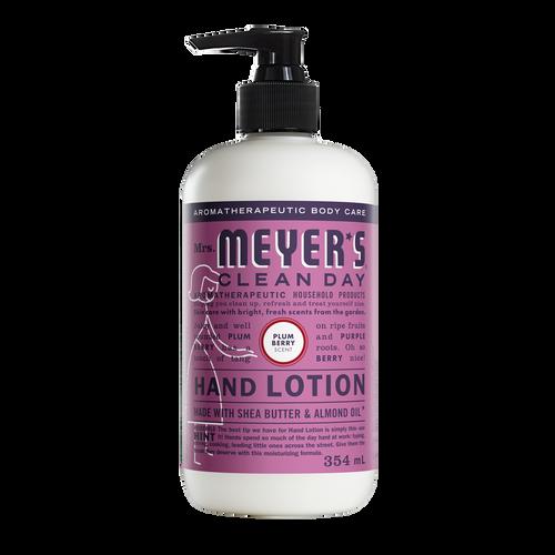 mrs meyers lotion pour les mains prune et baies