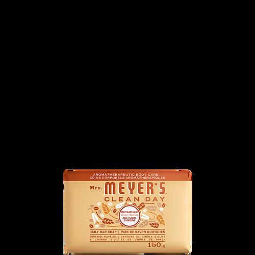 mrs meyers oat blossom daily bar soap - EN