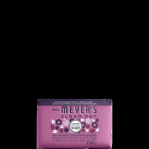 mrs meyers plum berry daily bar soap - EN