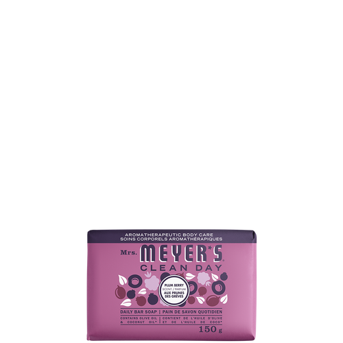 mrs meyers plum berry daily bar soap - FR
