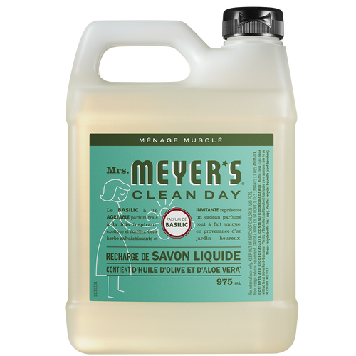 mrs meyers basil liquid hand soap refill - FR