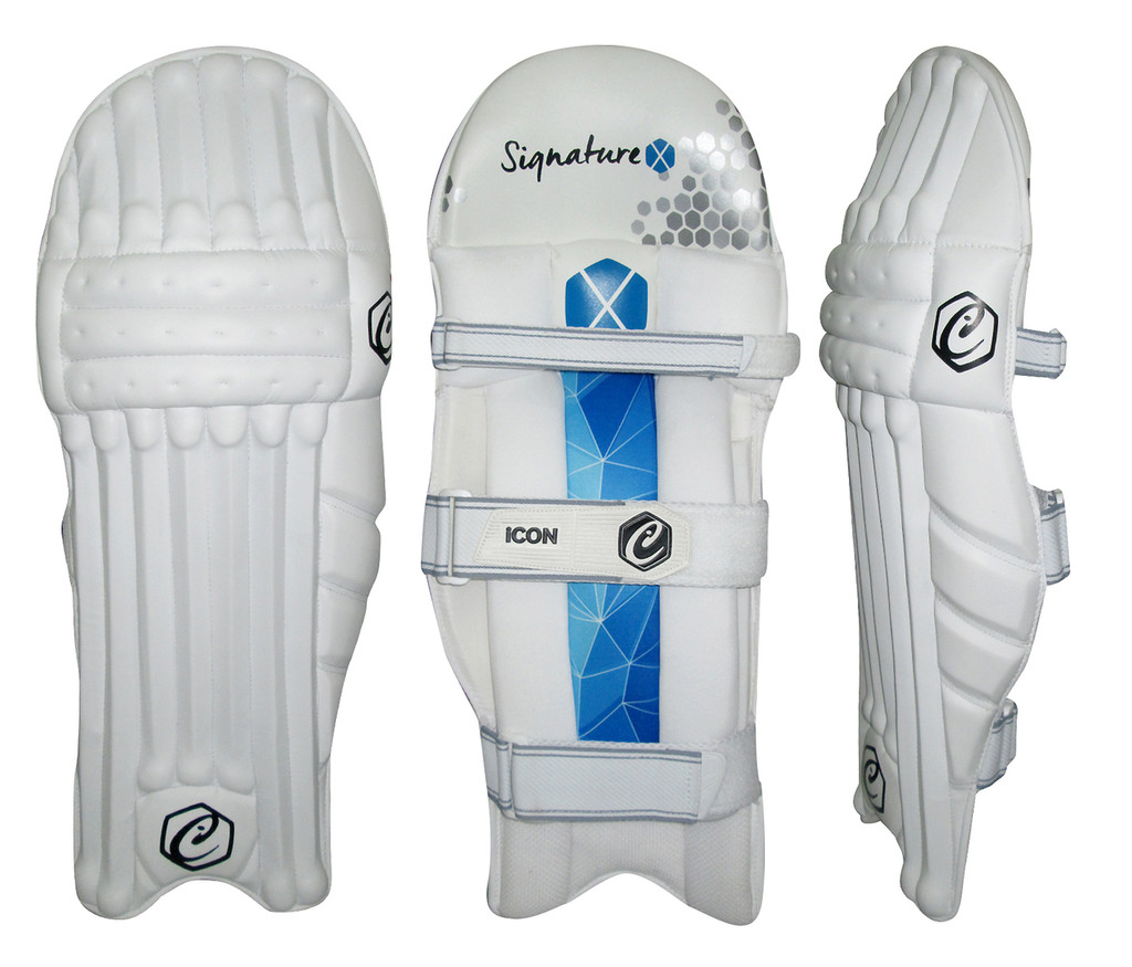 Signature X Batting Pads Blue