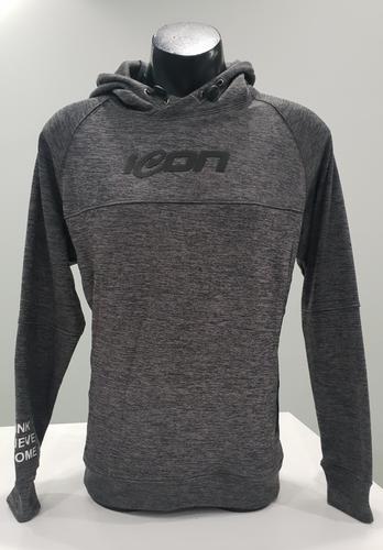 Tech hood Melange (Grey)