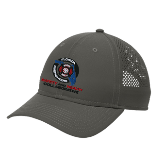 New Era  Perforated Performance Cap - Graphite