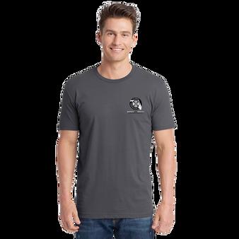 Next Level Unisex Cotton T-Shirt Heavy Metal B/W Logo