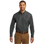 Port Authority Long Sleeve Carefree Poplin Shirt - Graphite
