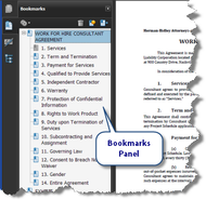 Using PDF Bookmarks to Avoid Losing Your Place