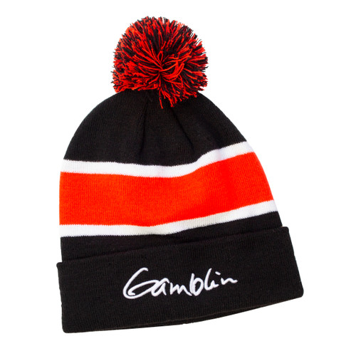 pom-pom beanie, hat, gamblin, swag