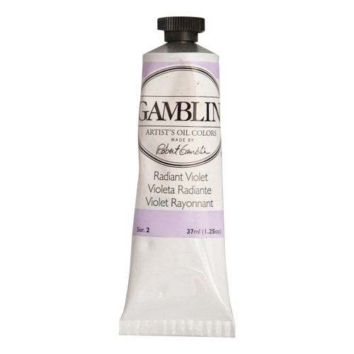Gamblin imperfect 37ml tube, oil paint, Artist Grade, Radiant Violet