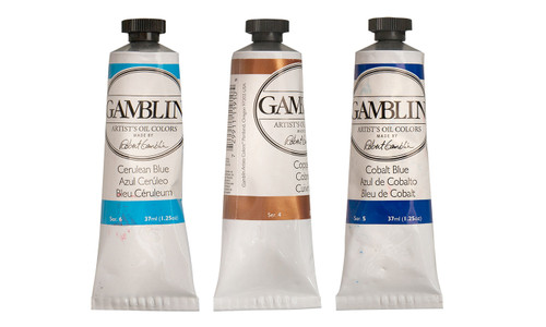 Imperfect pack series 4-6, oil colors, artist grade, gamblin