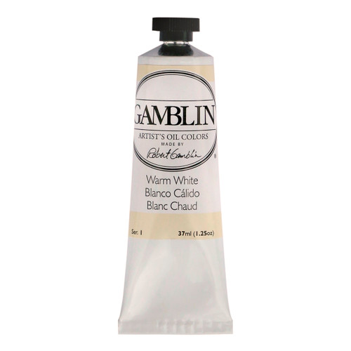 Gamblin Artist Grade Warm White 37ml tube