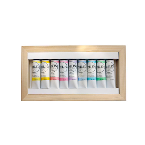 Gamblin Radiant Colors Limited Edition Set with painting panel