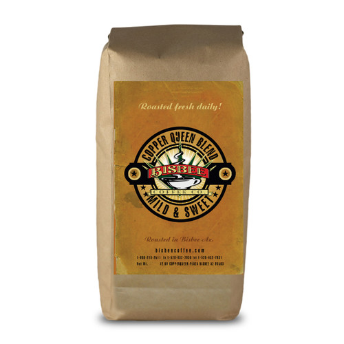 This medium roast is smooth and rich. Blended using Central and South American coffees.