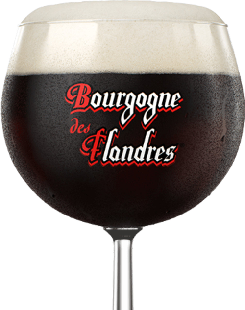 Bourgogne des Flandres beer tastes slightly sweet and sour, with a moderately bitter finish of roast malt.