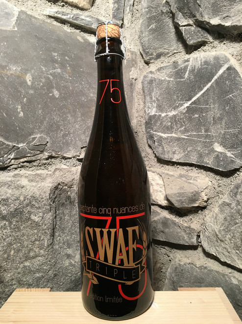 Swaf Triple with zesty aromas of coriander, followed by a subtle bitterness