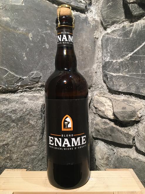 Ename Blond 75cl is a Belgian abbey beer