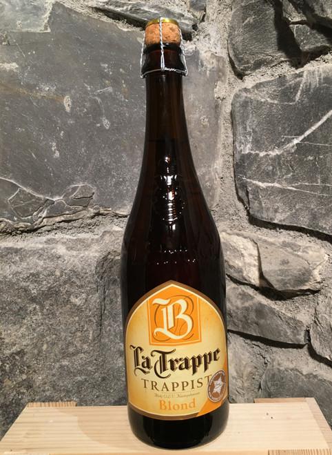 La Trappe Blonde 75cl, trappist beer.