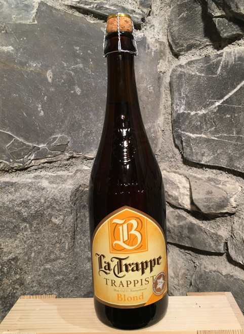 La Trappe Blonde 75cl, trappist beer.