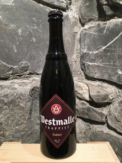 Westmalle Double 75cl. Trappist beer.