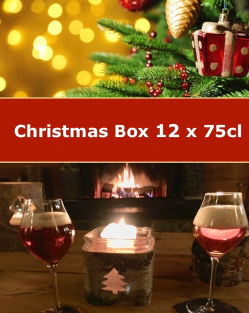 The Christmas beer box 12 x 75cl container 6 premium craft beers in 75 cl bottles that are wonderful to drink during Christmas time.