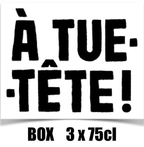 A Tue Tête box 3 x 75cl contains 3 bottles from A Tue Tête brewery.