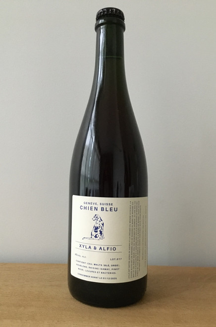Xyla & Alfio 75cl from the brewery Chien Bleu in Geneva