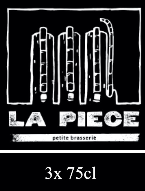 La Pièce box contains 3 bottles of 75cl from La Piece brewery in Meyrin Geneva