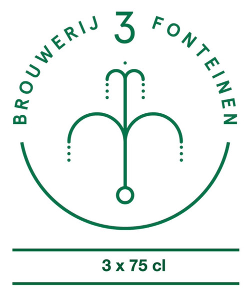 3 Fonteinen Box 3 x 75cl contains 3 bottles of 75 cl from the brewery 3 Fonteinen.
