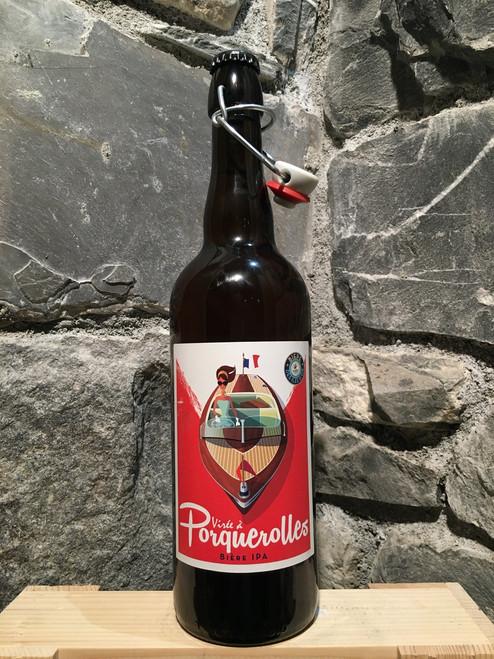 Virée à Porquerolles - bière IPA 75cl