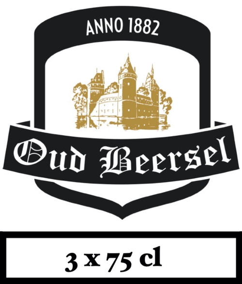 Oud Beersel Box 3 x 75cl contains 3 different beers from the brewery.