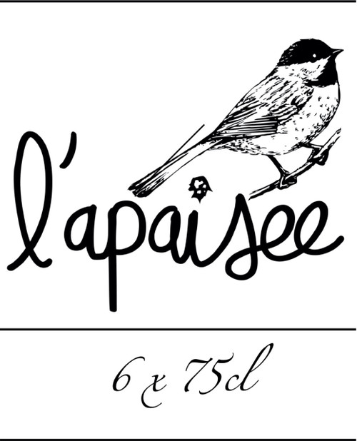L'Apaisée Box 6 x 75cl contains 6 different bottles of 75cl from the brewery L'Apaisée